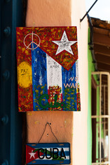 Kuba kubanisches Bild zum verkauf für Touristen