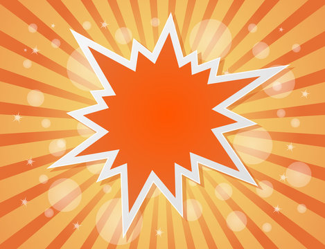 star burst abstract background