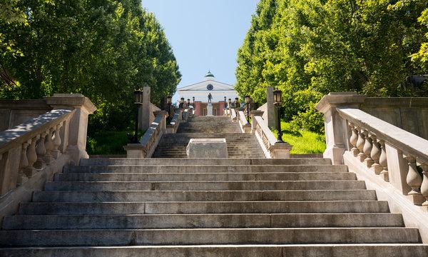 Monument Terrace in Lynchburg Virginia