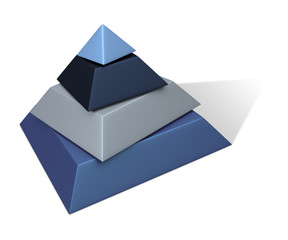 Metalic Paint Pyramid