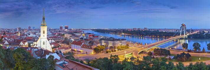 Fotorolgordijn Oost Europa Bratislava, Slovakia.
