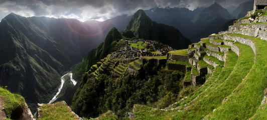Garden Poster South America Country Machu Picchu