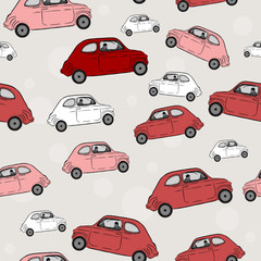 Seamless pattern, cars