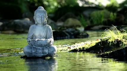 Fotomurales - Statue Bouddha