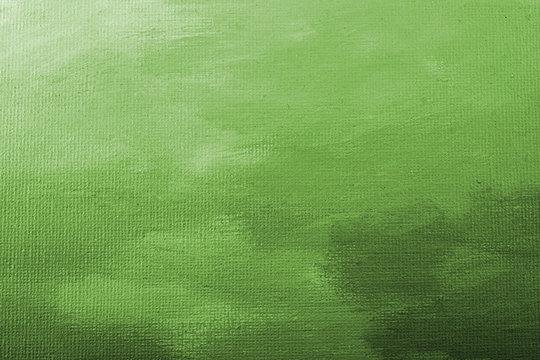 Green acrylic paint texture