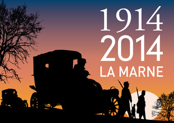 CENTENAIRE 14-18 La Marne