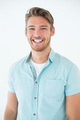 Portrait of a happy young man