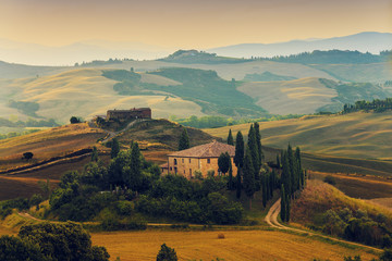 Papiers peints Toscane Tuscany, Italy - San Quirico d'Orcia