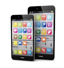 smartphones two sizes