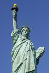 Statue of Liberty, symbol of New York and USA.