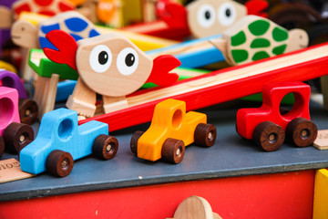 Hand Made Wood Toy Car