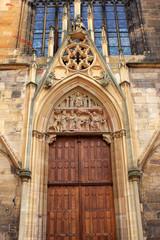 St. Martins Church in Colmar, France