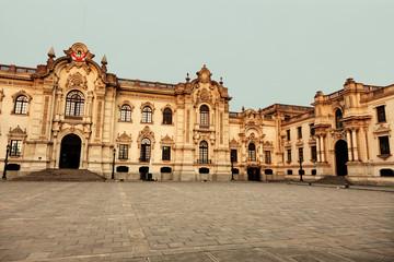 Palacio de Gobierno - Plaza Mayor, Lima, Peru