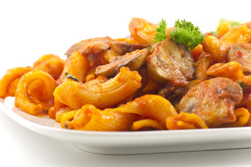 Pasta Bolognese with Mushrooms
