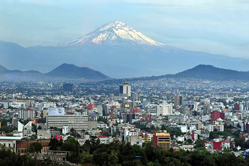 Mexico City Landscape