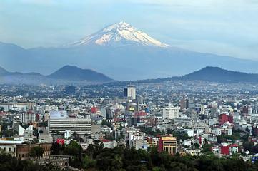 Foto auf AluDibond Mexiko Mexico City Landscape