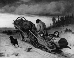 Last Journey (Vasily Perov, 1865)