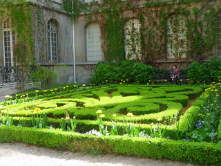 Joli jardin a Paris en Mars 2013