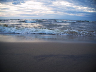 wave in the Baltic Sea