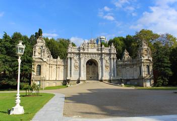 Entrance Dolmabahçe Palace - Istanbul
