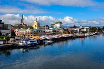 Valdivia by the river, Chile