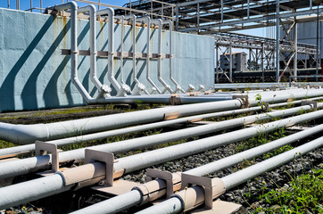Power Plant Ground Pipes