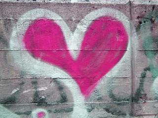 graphite pink heart