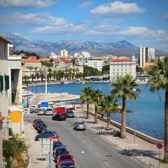 Fotobehang Algerije Split, Croatia