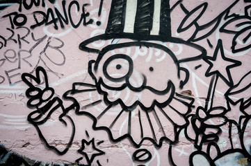 Graffiti magicien