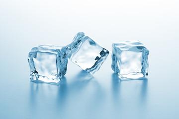 gefrorene eiswürfel