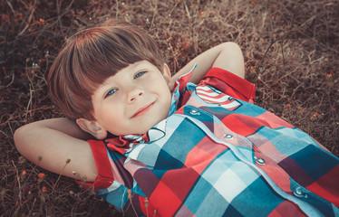 portrait of the little boy