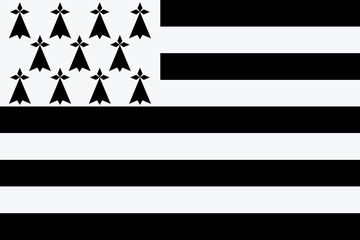 Drapeau de la Bretagne