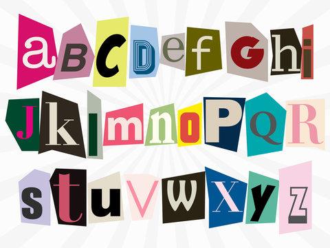 alphabet anonyme