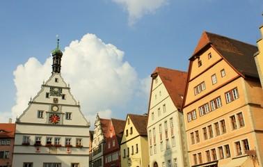 Fassaden in Rothenburg