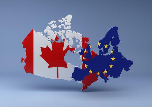 Canada-EU blue