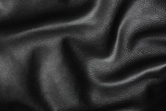 wavy leather