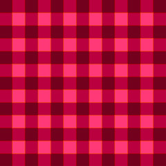 plaid color match ruby color tone pattern, vector illustration