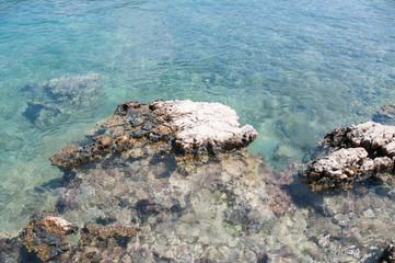 beautiful mediterranean sea in turkey