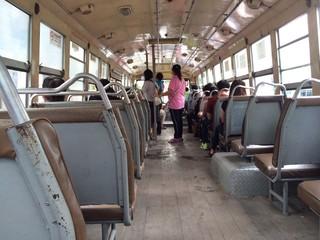 A bus in Thailand