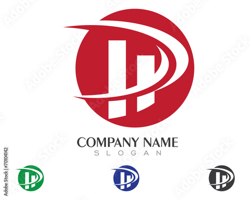 h and p template - hd hp h p logo template 2 stock image and royalty