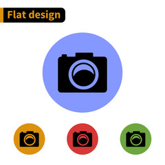 Icon flat design
