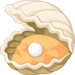 Oyster with a pearl