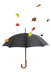Parapluie d'automne