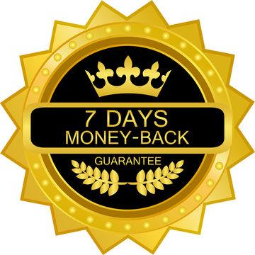 Seven Days Money Back Guarantee