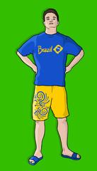 Brazil man