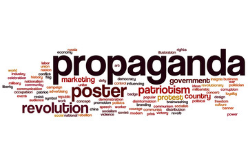 Propaganda word cloud