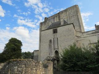 Indre-et-Loire - Loches - Entrée du Chateau et donjon