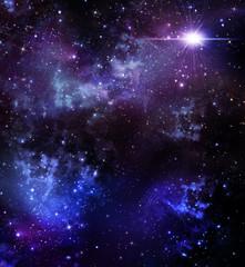 starry sky, background
