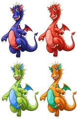 Poster de jardin Chambre d enfant Dragon