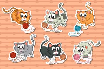Kittens set